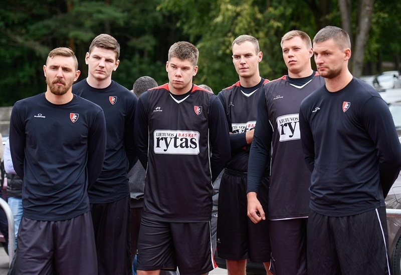 Lietuvos Rytas Vilnius also gathered to start its preseason.