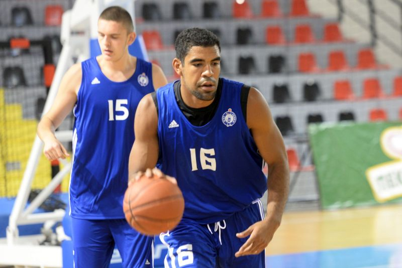 Josh Scott getting ready in the preseason for his 7DAYS Eurocup debut with MZT Skopje Aerodrom.