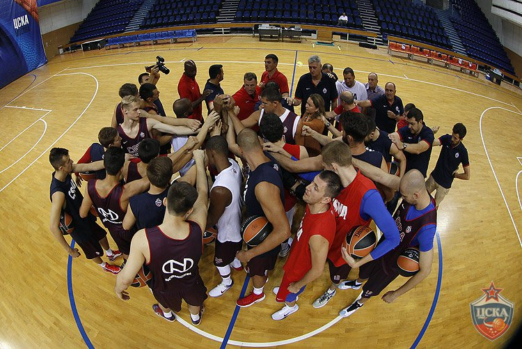 The defending champs, CSKA Moscow, also started the training camps for the new season.