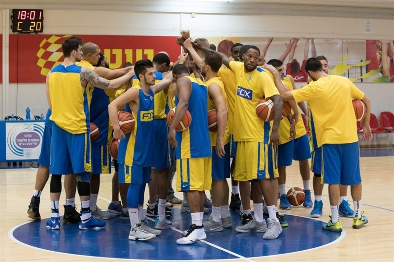 The new Maccabi FOX Tel Aviv, getting ready for the new season