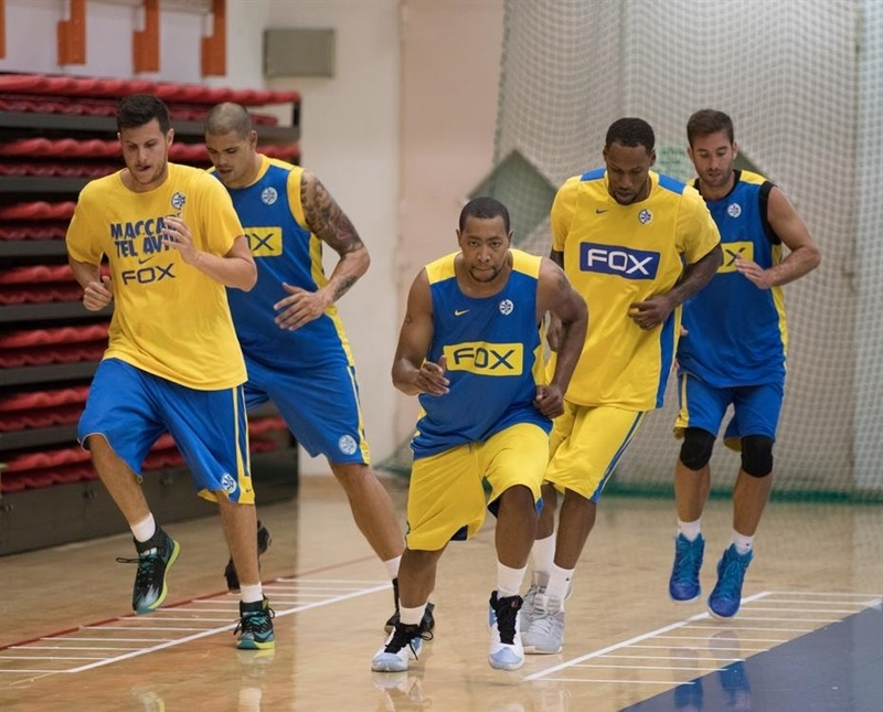 Maccabi FOX Tel Aviv intensifies the work in the preseason.
