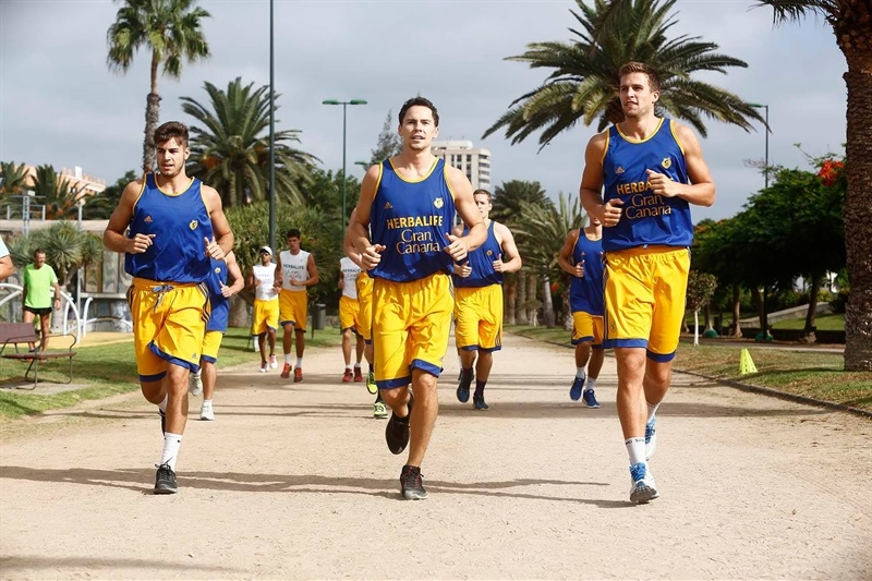 The new Herbalife Gran Canaria Las Palmas is getting ready for a new 7DAYS Eurocup season!