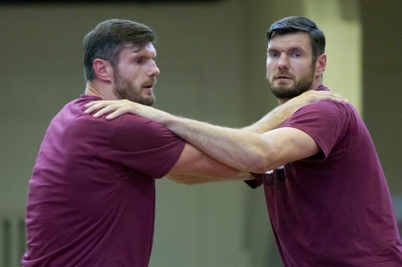 The two Lavrinovic brothers, back together at Lietkabelis Panevezys.