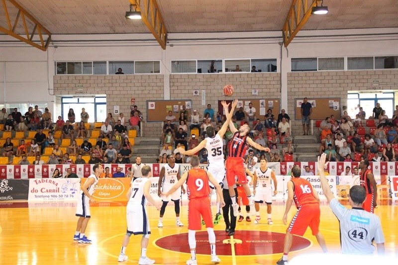 UCAM Murcia in preseason (photo UCAM Murcia) EC15