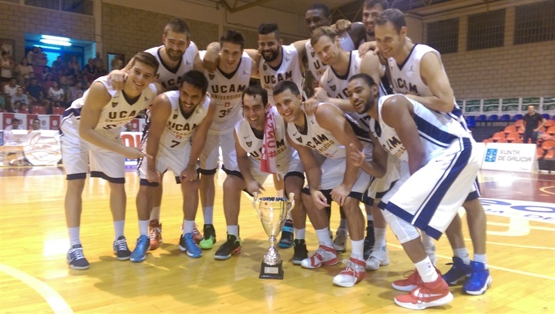 UCAM Murcia win Torneo EncestaRias in preseason (photo UCAM Murcia) EC16