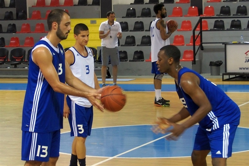 Djordje Dremovac - MZT Skopje Aerodrom in preseason (Photo MZT Skopje)