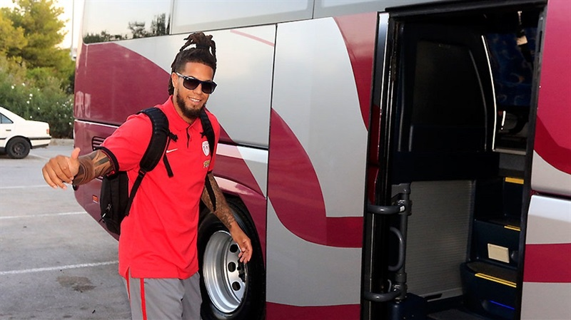 Daniel Hackett - Olympiacos Piraeus in preseason (photo Olympiacos) EB16