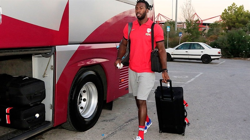 Patric Young - Olympiacos Piraeus in preseason (photo Olympiacos) EB16
