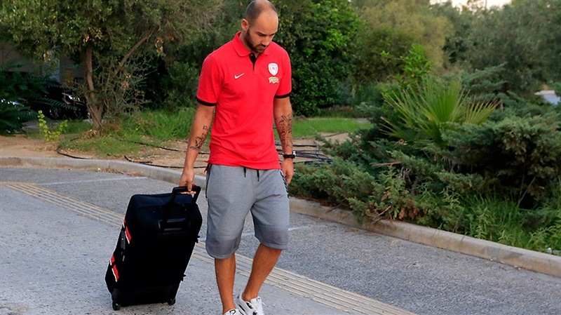 Vassilis Spanoulis - Olympiacos Piraeus in preseason (photo Olympiacos) EB16