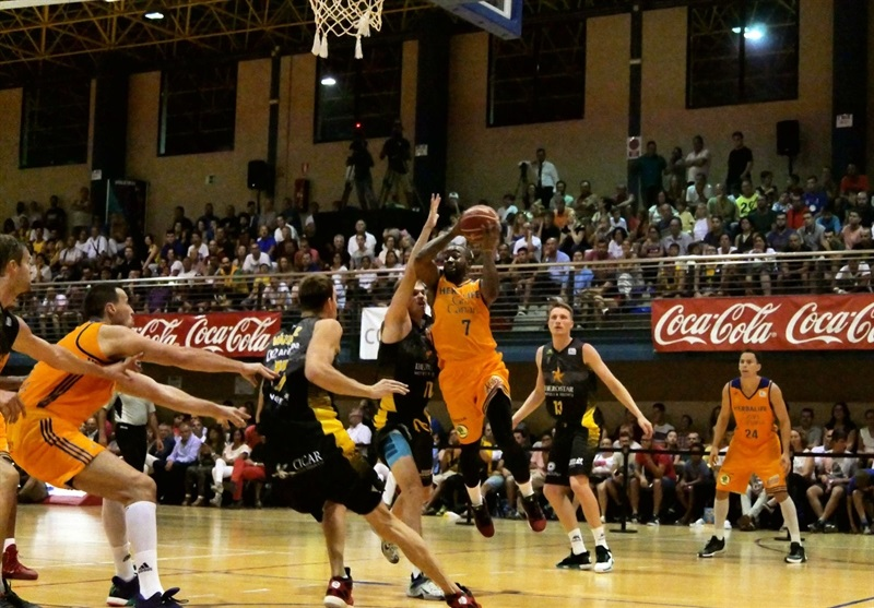 Bo McCalebb - Gran Canaria in preseason (photo Gran Canaria) EC16