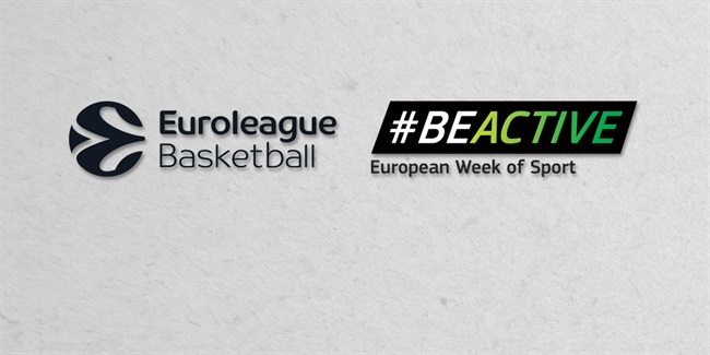 Euroleague Basketball clubs promote European Week of Sport