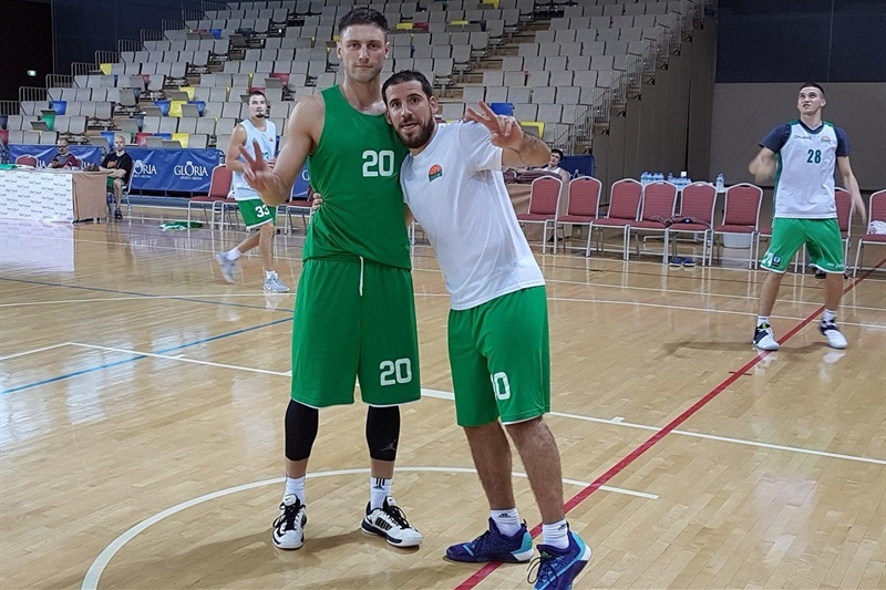 Vadim Panin and Quino Colom - Unics Kazan in preseason (photo Unics) - EB16