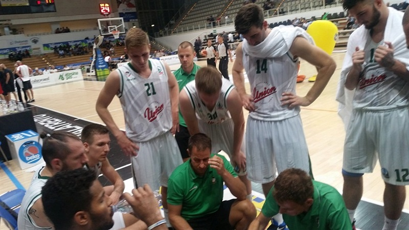 Gasper Okorn - Union Olimpija Ljubljana in preseason - EC16 (photo Union Olimpija)