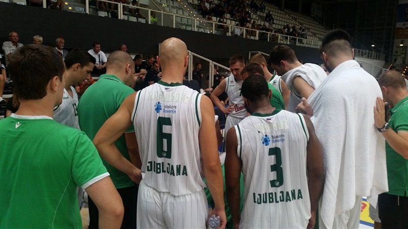Union Olimpija Ljubljana in preseason - EC16 (photo Union Olimpija)