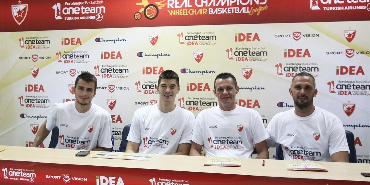 Crvena Zvezda tips off One Team for new season!