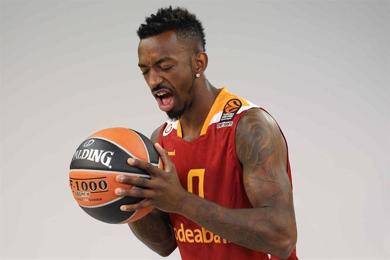Russ Smith - Galatasaray Odeabank Istanbul - Media Day 2016 - EB16