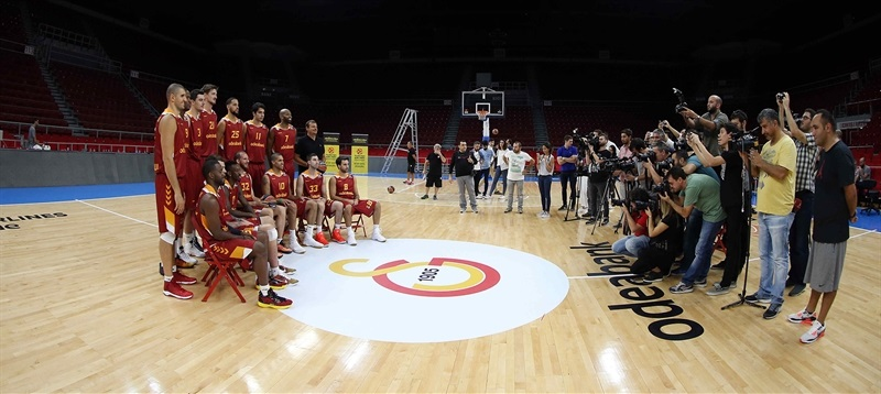 Media meets the team - Galatasaray Odeabank Istanbul - Media Day 2016