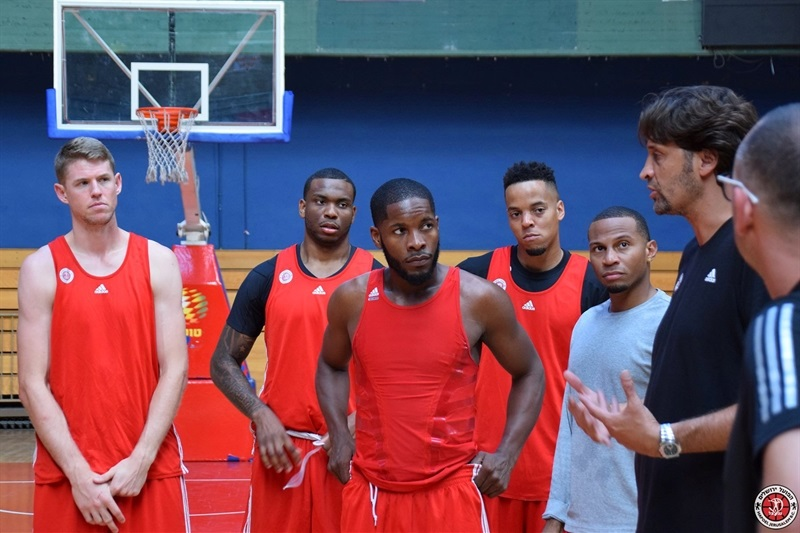 Hapoel Bank Yahav Jerusalem in preseason - EC16 (photo Hapoel)