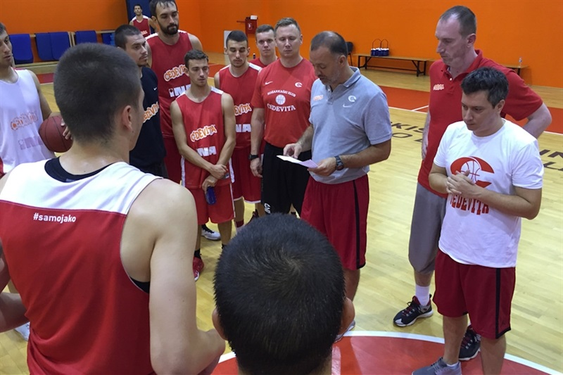 Veljko Mrsic - Cedevita Zagreb in preseason - EC16 (photo Cedevita)