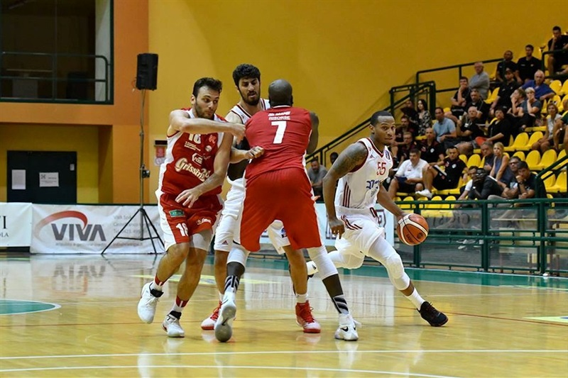 Curtis Jerrells - Hapoel Bank Yahav Jerusalem in preseason - EC16 (photo Hapoel)
