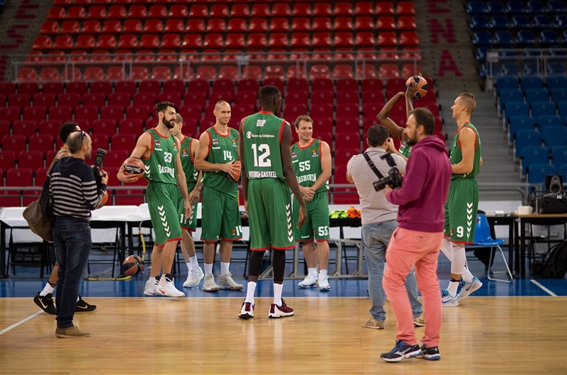 Players Baskonia Vitoria Gasteiz - Media Day 2016 - EB16
