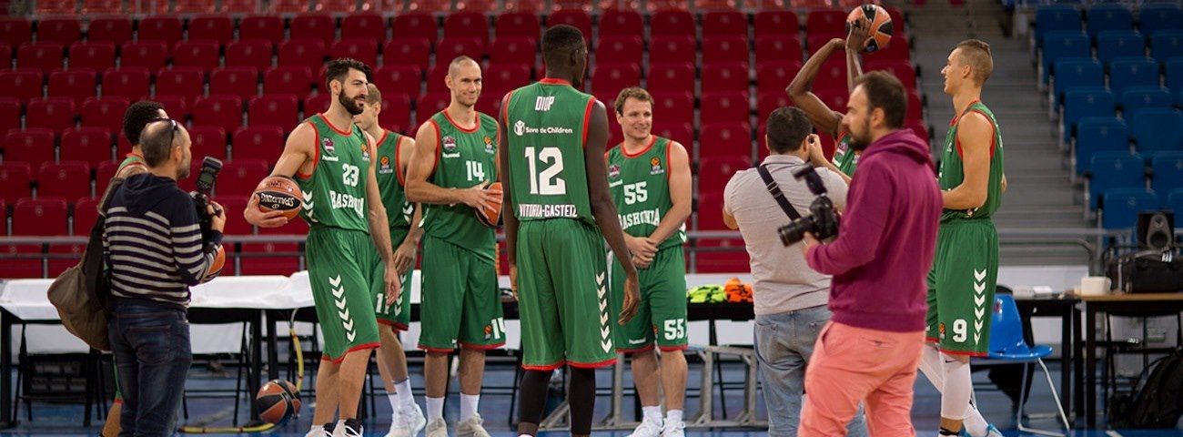 2016 Media Day Live: Baskonia Vitoria Gasteiz