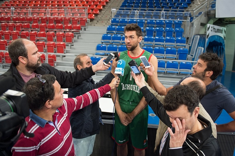 Andrea Bargnani - Baskonia Vitoria Gasteiz - Media Day 2016 - EB16