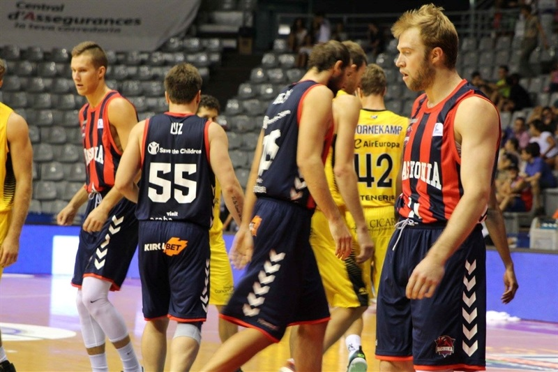 Trevor Cooney - Baskonia Vitoria Gasteiz in preseason - EB16 (photo Baskonia)
