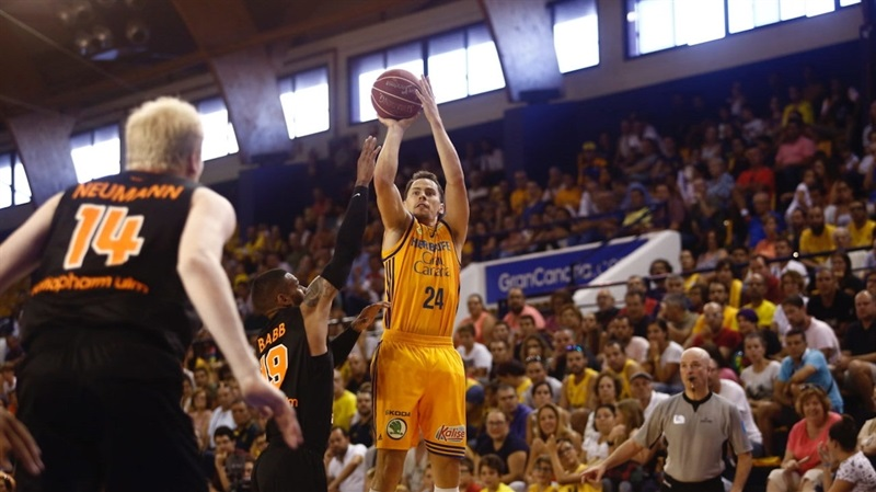 Kyle Kuric - Gran Canaria in preseason (photo Gran Canaria) EC16