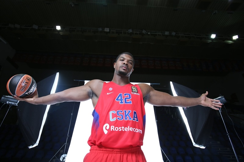 Kyle Hines -  CSKA Moscow - Media Day 2016 - EB16