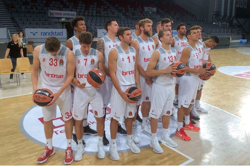 Brose Bamberg - Media Day 2016 - EB16 (photo Brose)