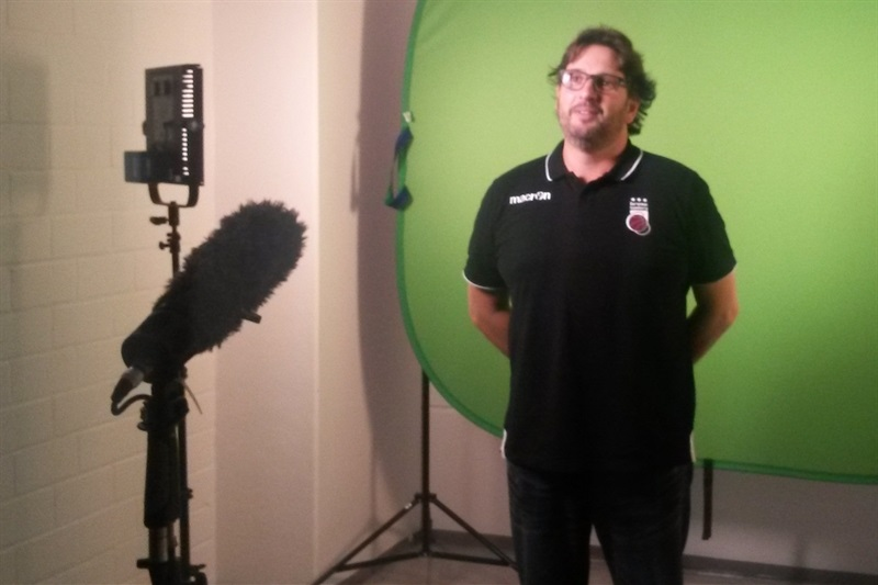 Andrea Trinchieri - Brose Bamberg - Media Day 2016 - EB16