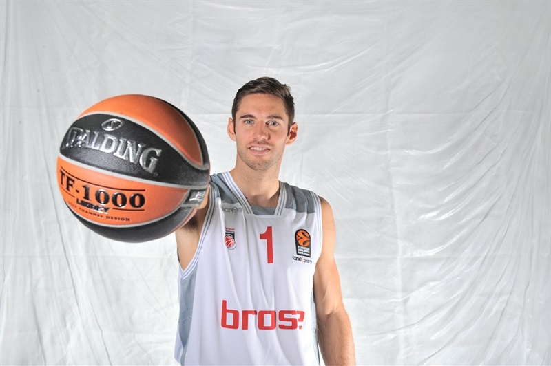 Fabien Causeur - Brose Bamberg - Media Day 2016 - EB16