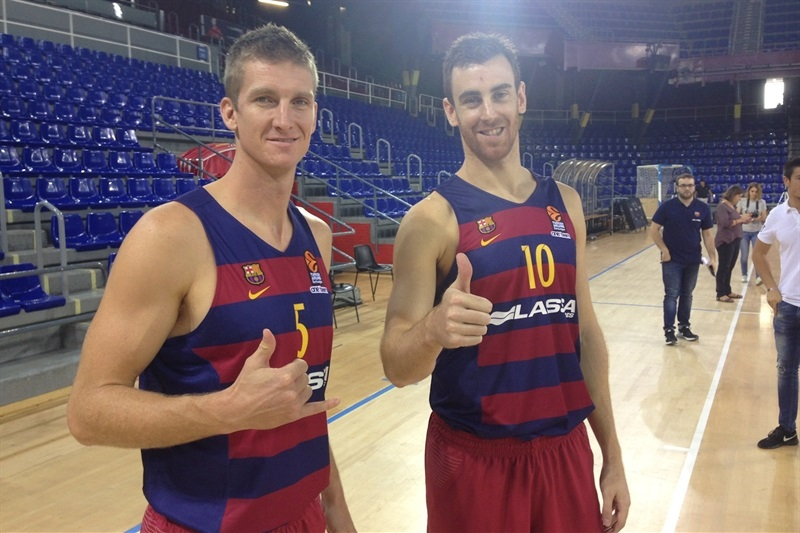2016 Media Day Live Fc Barcelona Lassa News Welcome To 7days Eurocup