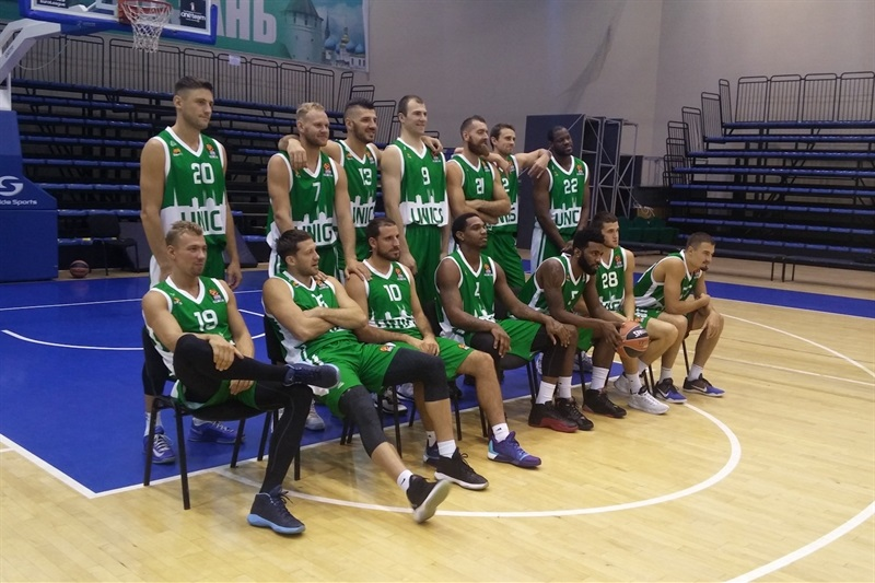 Unics Kazan - Media Day 2016 - EB16