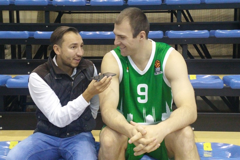 Artsiom Parakhouski - Unics Kazan - Media Day 2016 - EB16