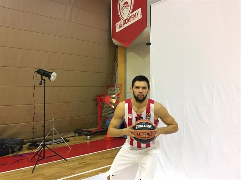 Kostas Papanikolaou - Olympiacos Piraeus - Media Day 2016 - EB16 (photo Olympiacos)