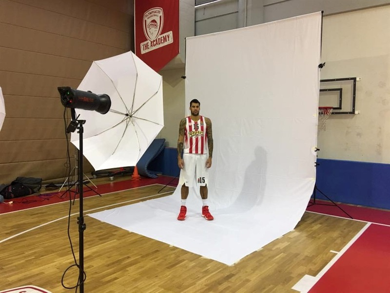 Georgios Printezis - Olympiacos Piraeus - Media Day 2016 - EB16 (photo Olympiacos)