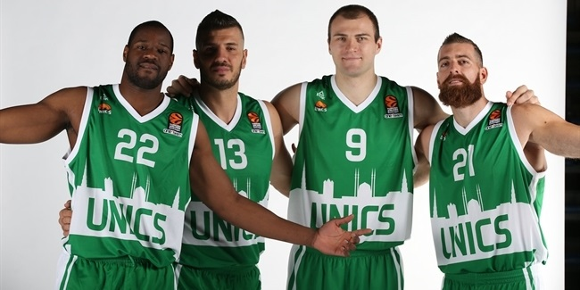 2016-17 Media Day: Unics Kazan