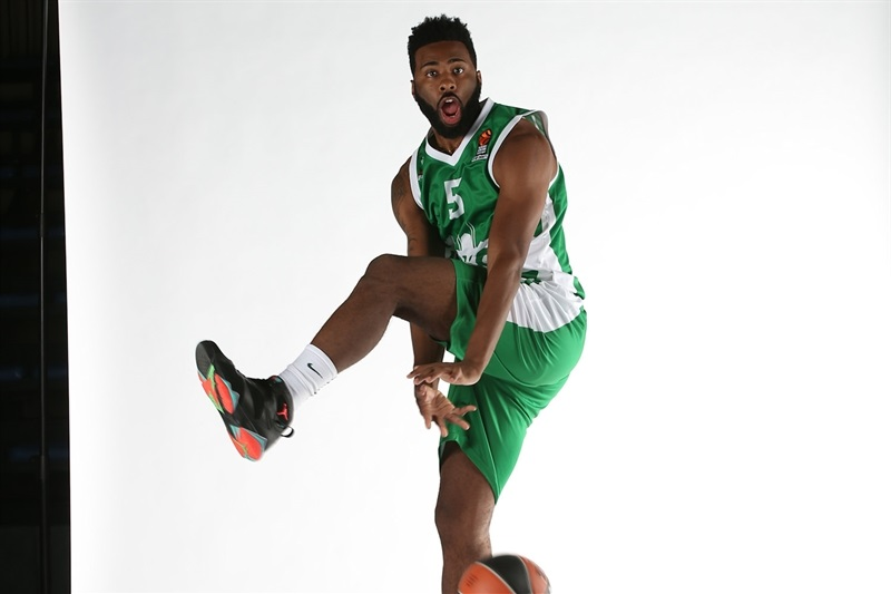 Keith Langford - Unics Kazan - Media Day 2016 - EB16