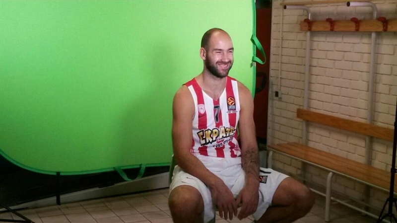 Vassilis Spanoulis - Olympiacos Piraeus - Media Day 2016 - EB16 (photo Olympiacos)