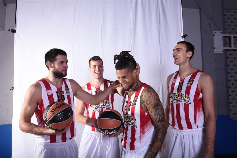 Players Olympiacos Piraeus - Media Day 2016 - EB16
