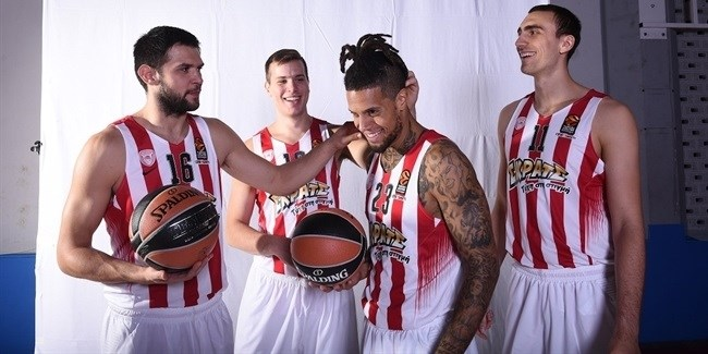 2016-17 Media Day: Olympiacos Piraeus