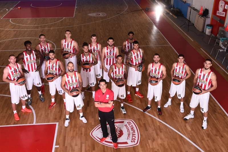 Olympiacos Piraeus - Media Day 2016 - EB16 (photo Olympiacos)