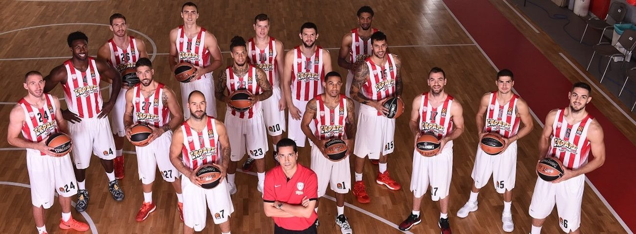 2016 Media Day Live: Olympiacos Piraeus