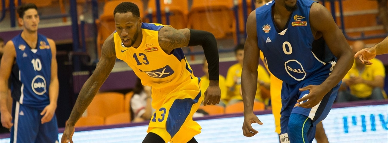 Maccabi's Weems to miss start of season with hamstring tear