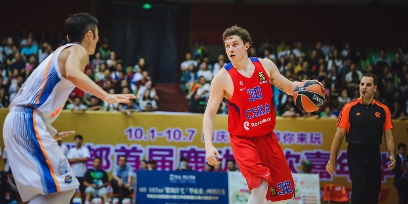 CSKA dominates in China Tour opener