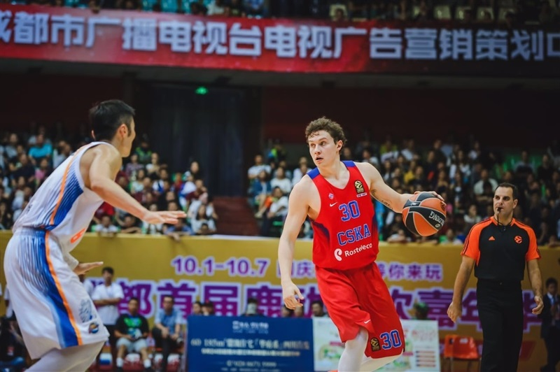 Mikhail Kulagin - CSKA Moscow 2016 China Tour - EB16