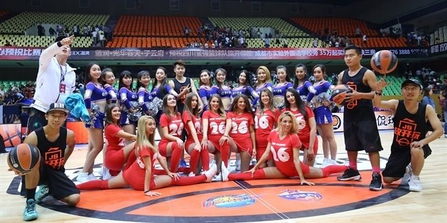 Crvena Zvezda's Dance Squad joins CSKA Moscow in China Tour