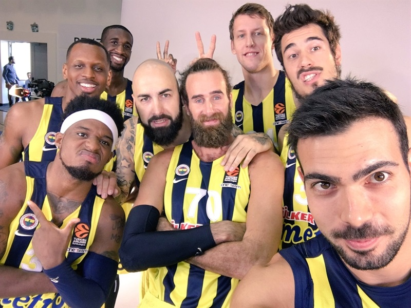 Players Fenerbahce Istanbul Media Day 2016 - EB16